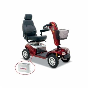 Speciale accu's, voor Scootmobiel als ook voor Til-liften, Golf-car, Alarmsystemen etc.